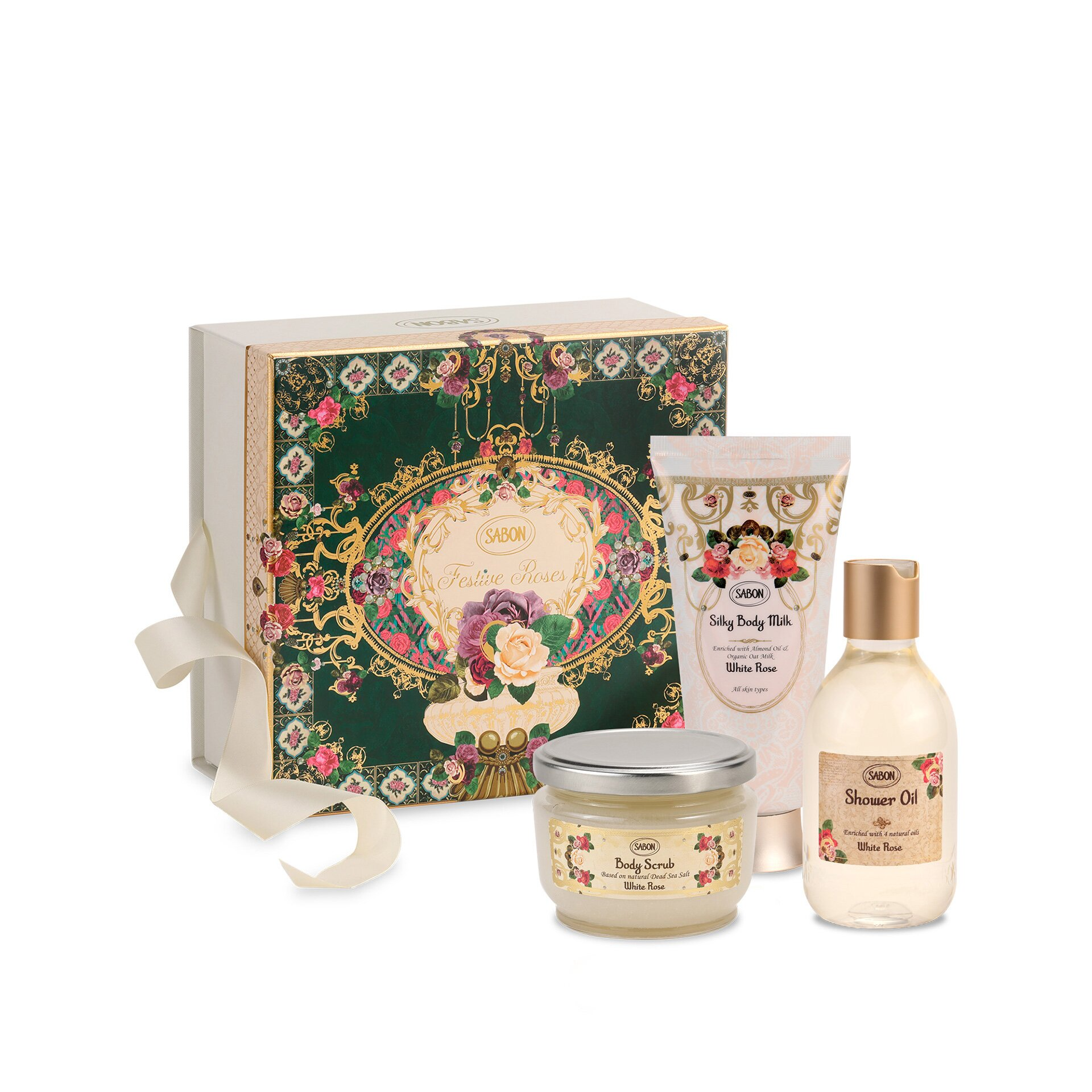 Gift Set Inter - White Rose 2