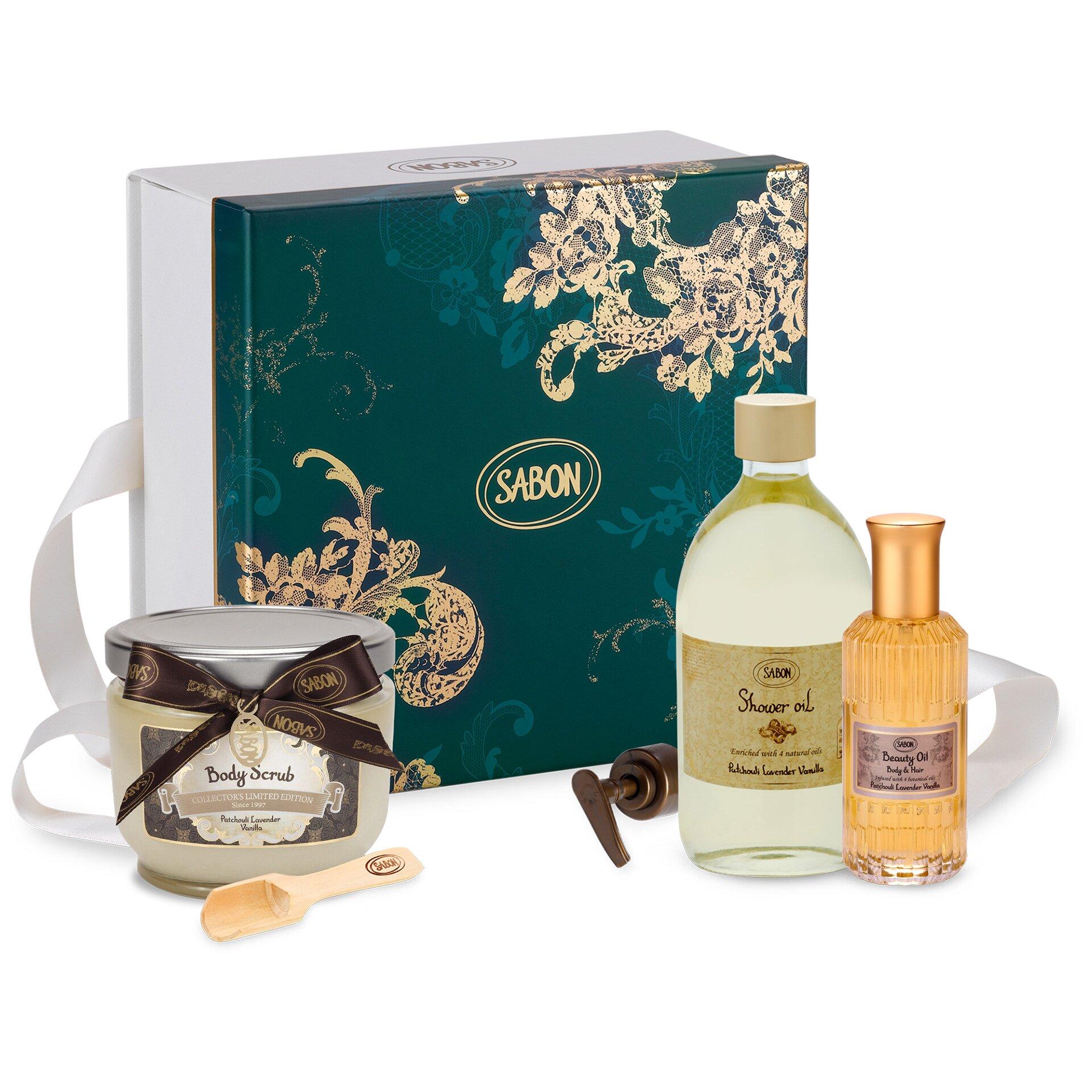 Gift Set Body Care Patchouli - Lavender - Vanilla - M