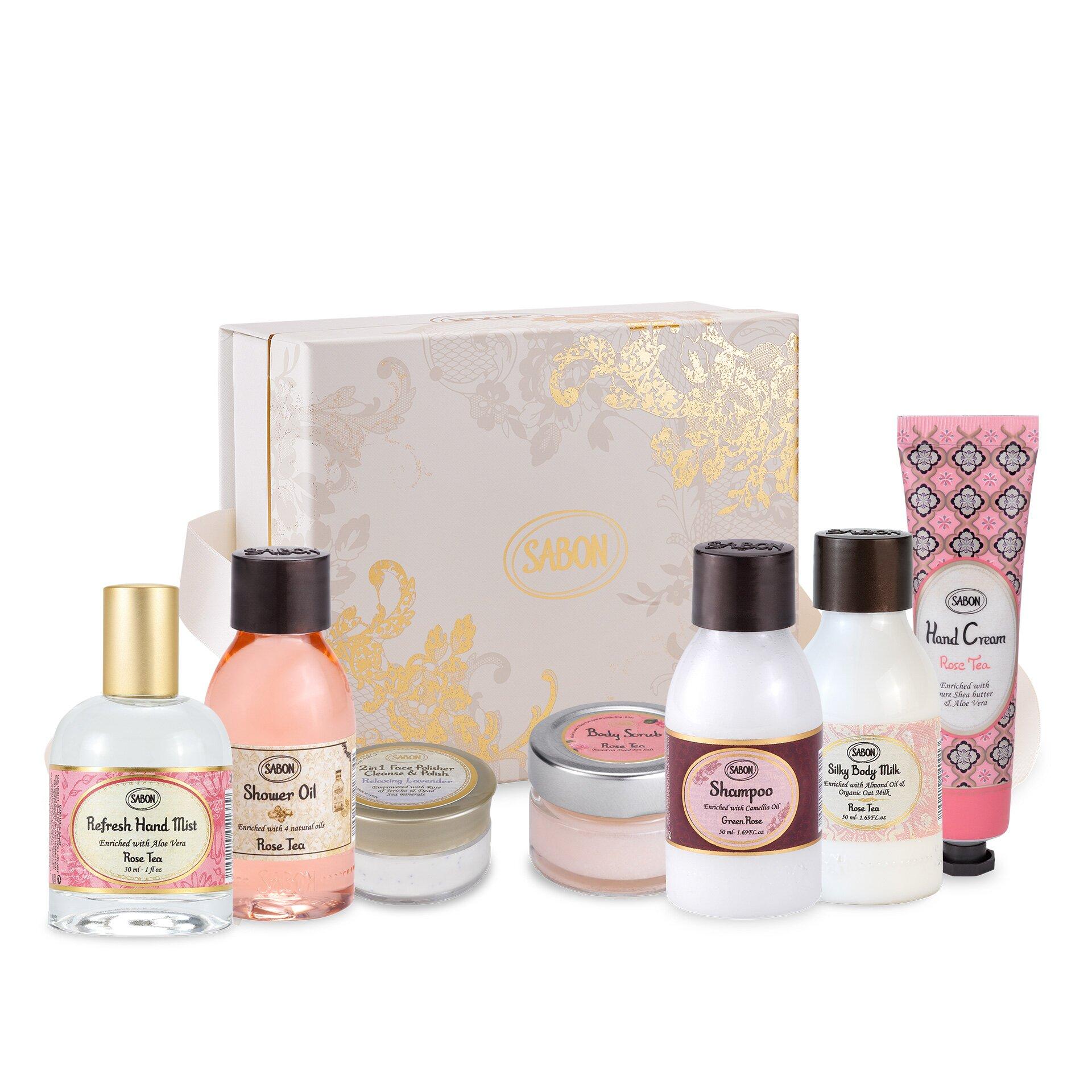 Set cadou Mini Travel Rose Tea