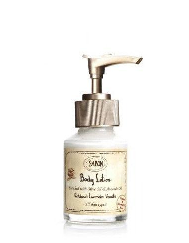 Mini Crema de corp - Sticla Paciulie - Lavanda - Vanilie