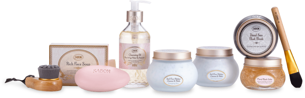 SABON's Fresh & Glow facial care products